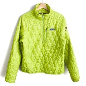 Patagonia Nano Puff Half Zip Pullover Jacket LG